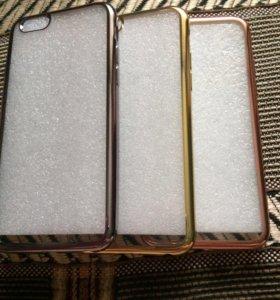 Селиконовый бампер на айфон5-6