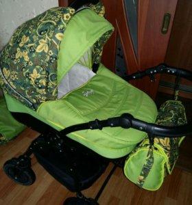 Детская коляска Slaro Indigo Khokhloma Collection