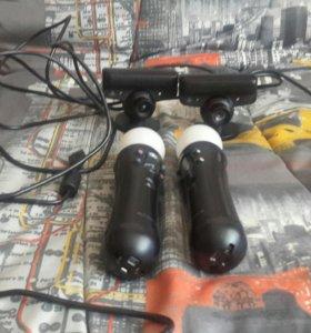 Мувы и две камеры+диск к ним в подарок для них!!))