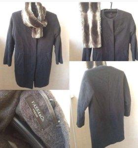 СРОЧНО! Зимнее пальто с меховым воротником. Торг