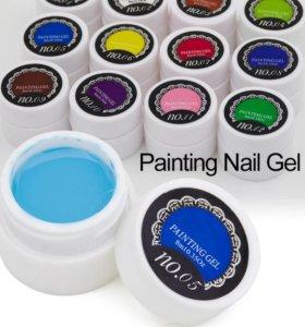 Гель краски для рисования