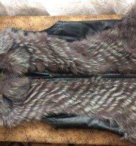 Меховая жилетка ТоТо