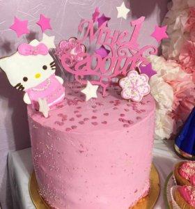Украшение-надпись на торт