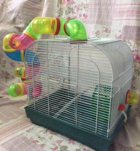 Клетка для мелких грызунов.