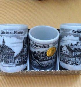 Стопки. Подарочный набор. Швейцария