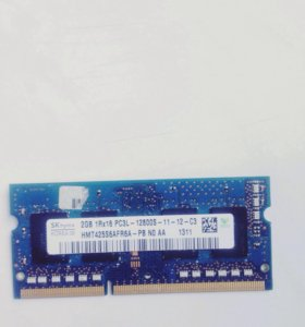 Оперативная память для ноутбука so-dimm ddr3 2gb