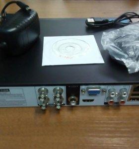 4 ех канальный гибридный облачный видерегистратор