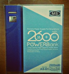 Внешний аккумулятор Power Bank