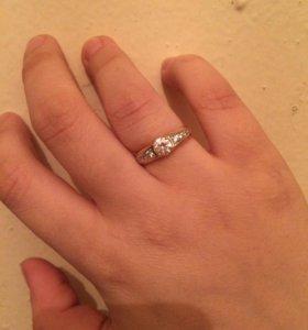 Золотое кольцо+коробочка