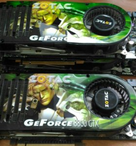Видеокарта GeForce 8800GTX