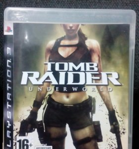 Tomb raider underworld на PS3