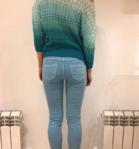 Кофта с джинсами