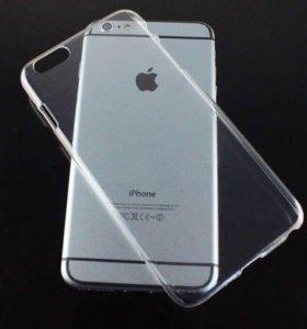 Чехол для iPhone 6/6s Прозрачный
