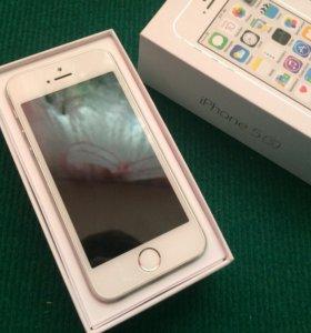 iPhone 5s. 16гб,silver,оригинал