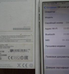 АЙФОН iPhone 5s с наушниками Новые!!