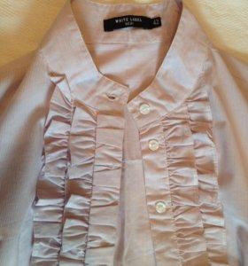 Рубашка приталенная 42 р