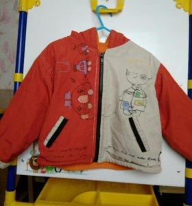 Куртка на мальчика 2- 3года