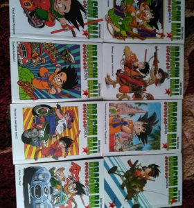 Манга Dragon Ball 1-8 тома