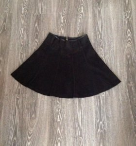 Новая замшевая юбка