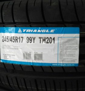 Летние шины Triangle 245/45ZR17 TH201