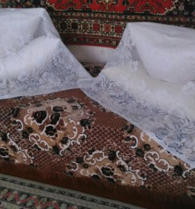 Перина и подушки