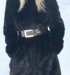 Норковая шуба 42-44 размер