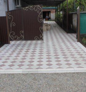 Двери, калитки, тротуарная плитка, брусчатка