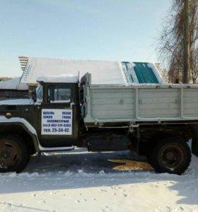 Вывоз снега услуги самосвала