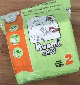 Подгузники Muumi Baby 2