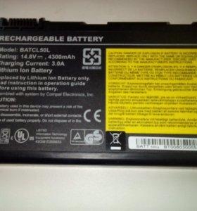Аккумулятор для ноутбуков BATCL50L