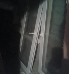 Пластиковые окна и дверь