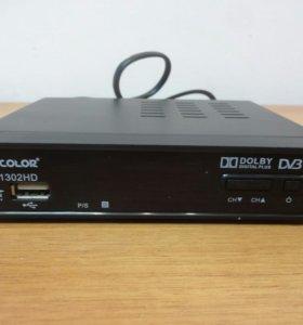 Внешний TV-тюнер, цифровой, D-COLOR DC1302HD
