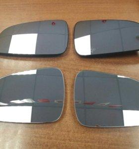 Зеркальный элемент зеркала Opel Astra H Астра Н