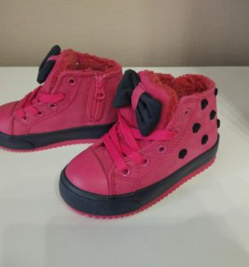 Кеды ботинки для девочки