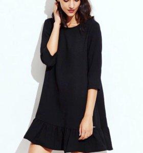 Новое платье-волан 48-50