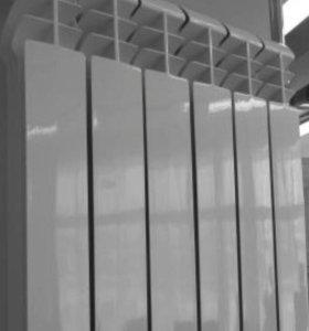 Радиатор отопления Aluminium(секция)