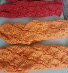 Вязаные носочки(шерсть)ручная работа новые
