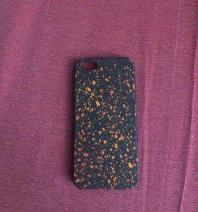 Чехол на iPhone5/5s (Оранжевый)
