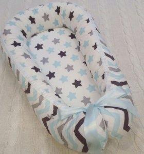 Гнездышко для новорожденных, новое с этикеткой