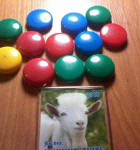Продам цветные магниты!
