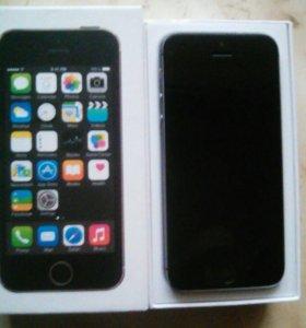 IPhone 5s/16GB Spase Grey