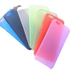 Ультратонкие чехлы на Iphone 5,6