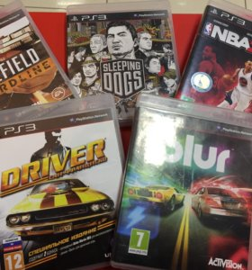 Blur Battlefield NBA и другие