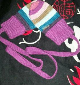 Варежки для малыша. Новые!!!