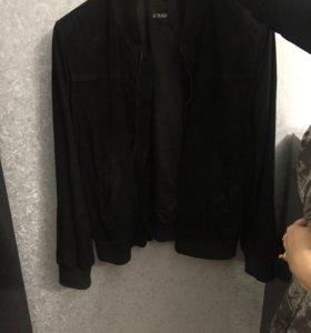 Куртка из нубука