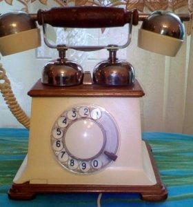 Ретро телефон. Сделано в СССР.