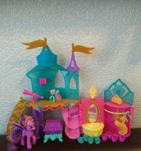 My little pony замок Твайлайт.