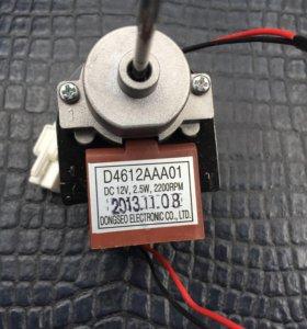 Двигатель вентилятора 12v 2.5w.