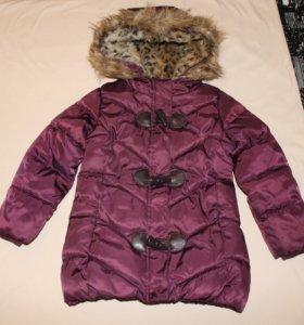 Фирменная куртка-полупальто (92)