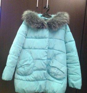 Куртка удлиненная на синтепоне